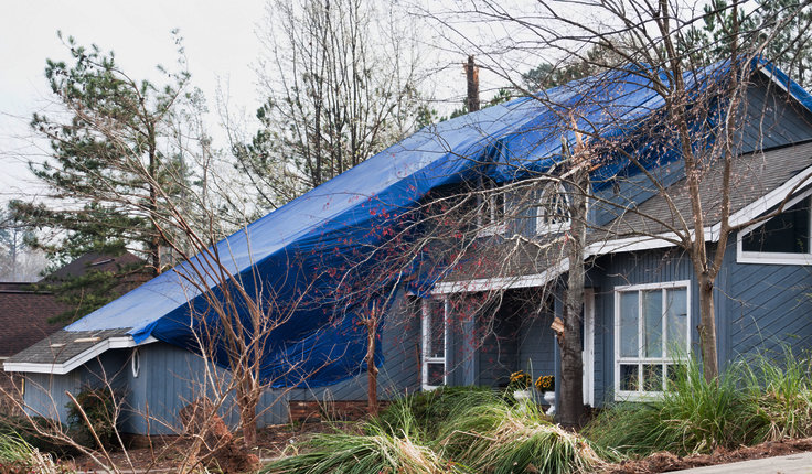 Roof Wind and Hail Damage Insurance Repairs