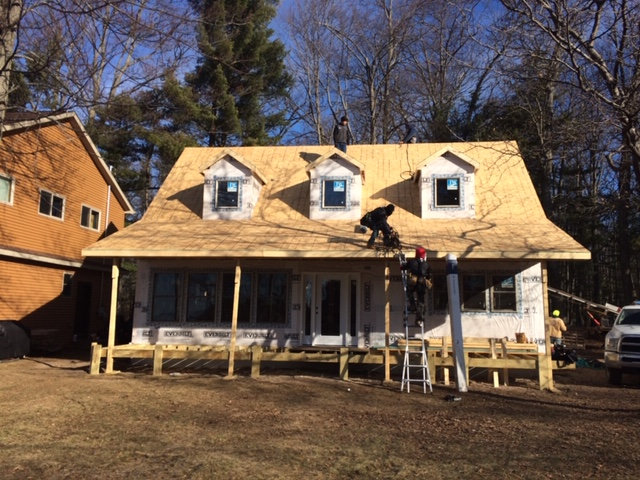New Construction Residential Roofing Project